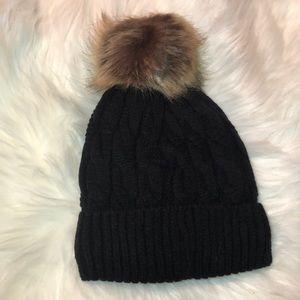 Accessories - Pom Pom Beanie Winter Beanie fluffy knit beanie